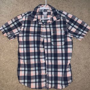 Boys short sleeve button up